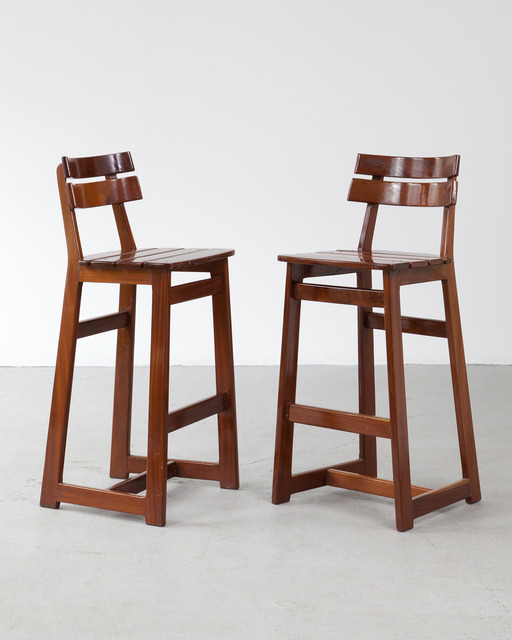 , 'Pair of barstools,' 1970s, R & Company