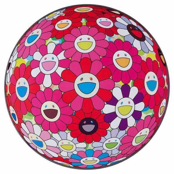 , 'FLOWER BALL TURN RED! (3D),' 2010, Marcel Katz Art