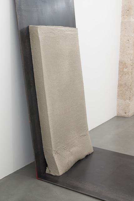 , 'Beton (gerutscht),' 2016, Galerie Jocelyn Wolff