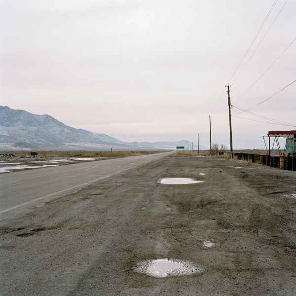 , 'Highway 196 (Road to Dugway Proving Grounds), Rowley Junction, Utah,' 1995, Robert Mann Gallery
