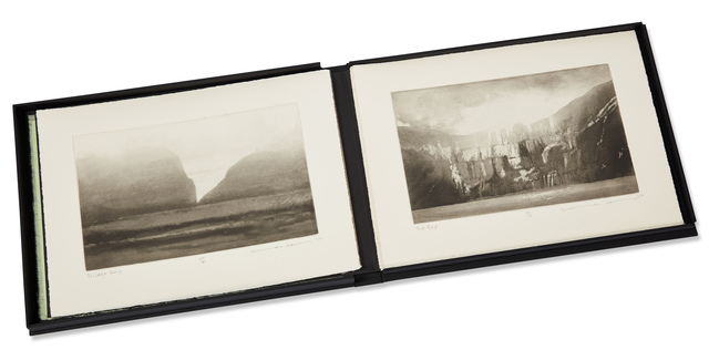 Norman Ackroyd, 'St Kilda Revisited', 2010, Books and Portfolios, Complete portfolio of ten etchings with aquatint on 280gsm somerset rag, Roseberys