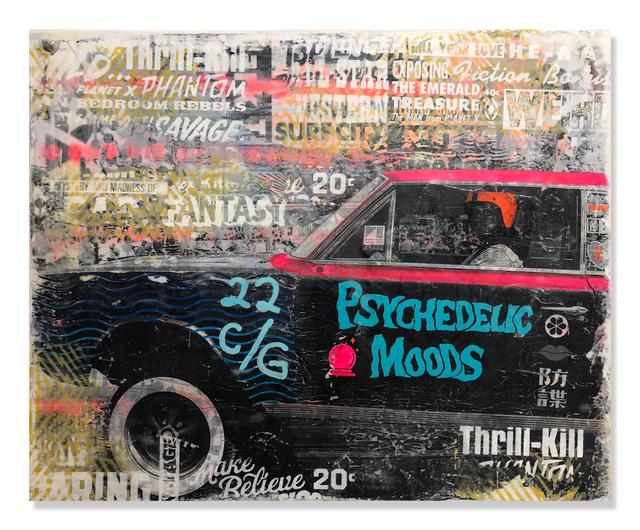 , 'Psychedelic Moods,' 2018, Treason Gallery