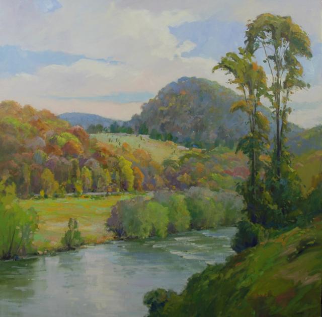 , 'Virginia River,' 2016, Susan Calloway Fine Arts