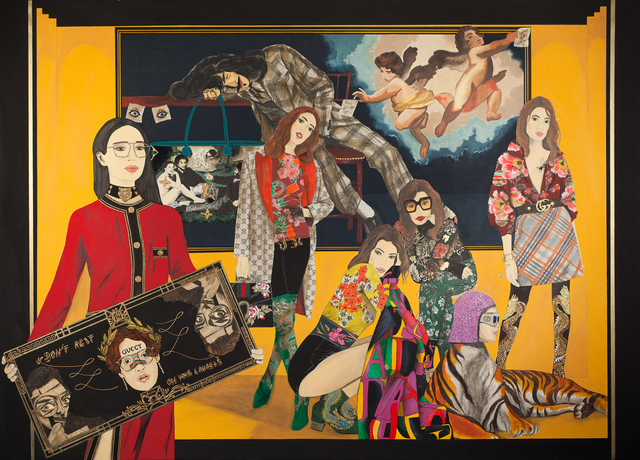 , 'Trend and moral agitator,' 2019, Elka Bronner Gallery