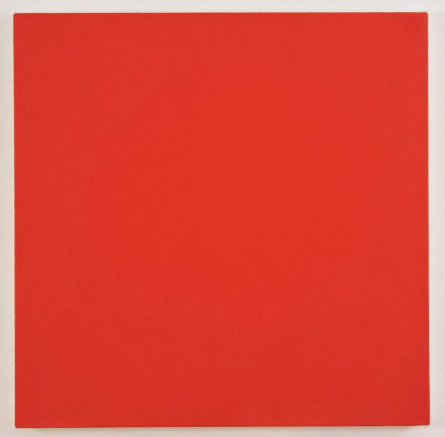 , 'Alizarin Crimson Light (Red Paintings),' 1999, Galerie Hubert Winter
