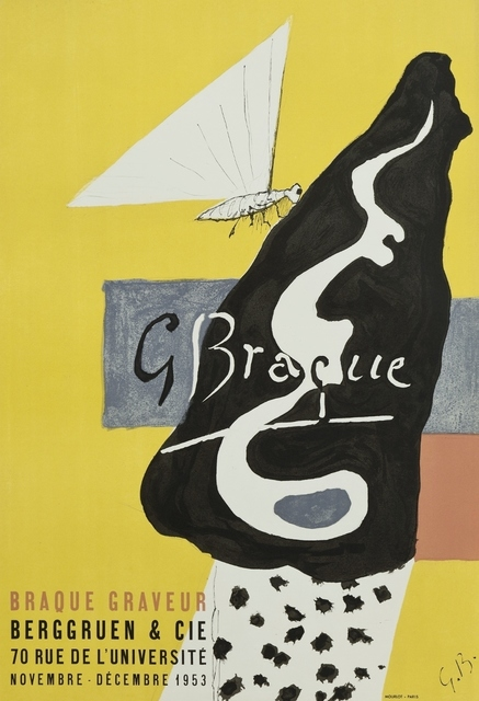 Georges Braque, 'Galerie Berggruen.', 1953, William Weston Gallery Ltd.