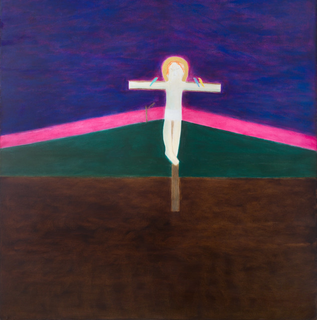 , 'Crucifixion 8,' 1985-1986, Piano Nobile