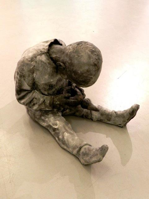 , 'Niño con muñeco,' 2014, 3 Punts Galeria