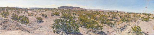 , 'Creosote Bushes, Presidio, TX,' 2016, Betty Cuningham