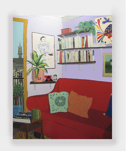 , 'Marais Apartment,' 2019, Rachel Uffner Gallery