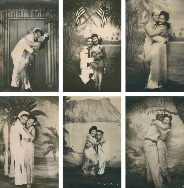 , 'Untitled [Sailors and Hula Girls Portraits],' ca. 1945, The Walther Collection
