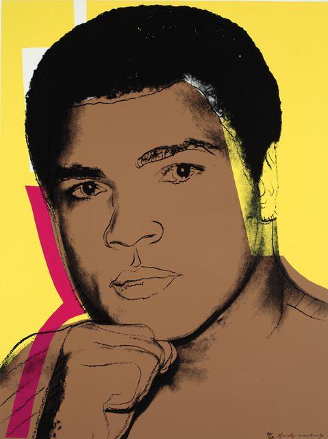 Andy Warhol, 'Muhammed Ali', 1978, Samuel Owen Gallery