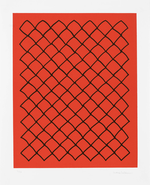 , 'Untitled (fence, red),' 2018, Edition Copenhagen