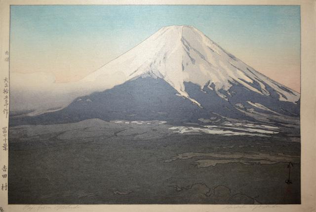 , 'Fuji from Yoshida,' 1926, Ronin Gallery