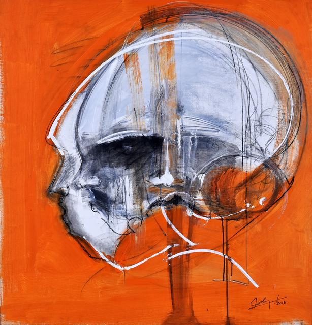 Eduardo Agelvis, 'Me muevo naranja', 2018, Baga 06 Art Gallery