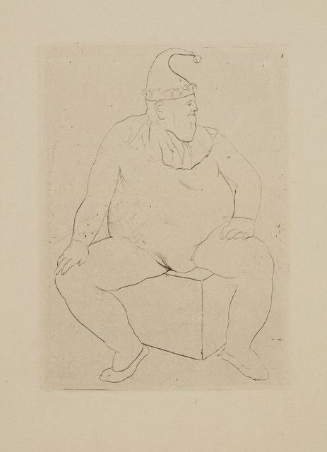 Pablo Picasso, 'Le Saltimbanque au repos, from La suite des Saltimbanques', 1905, Phillips