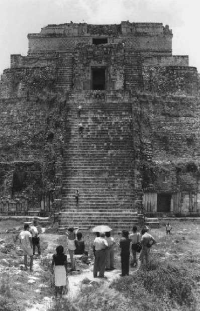 , 'House of the Magician [Uxmal], (Casa del Adivino) [Uxmal],' 1985, Henrique Faria Fine Art