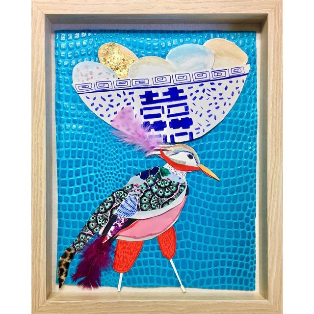 , 'A Bird Named Heidi,' 2017, Miller Gallery Charleston