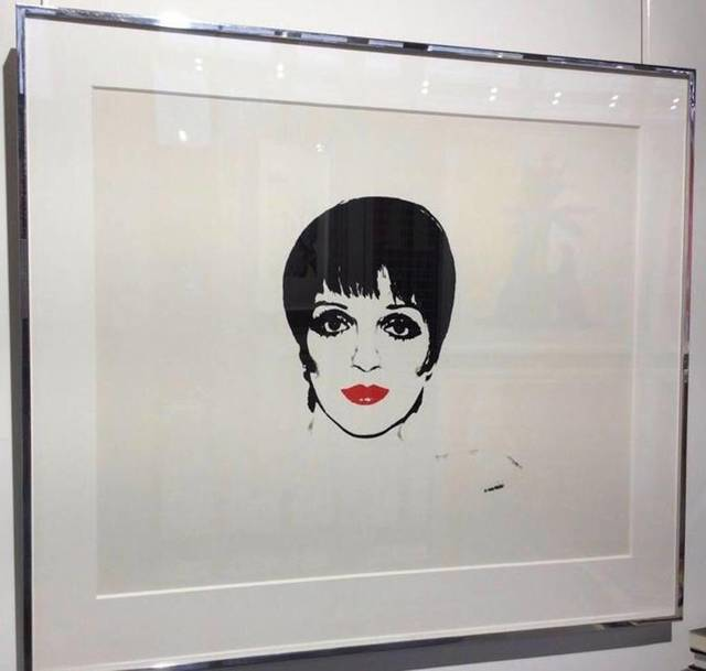 Andy Warhol, 'Liza Minnelli (FS III. 34) Unique', 1978, Reuben Colley Fine Art