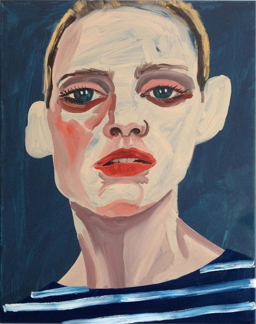 , 'Red lips & Breton stripes,' , James Freeman Gallery