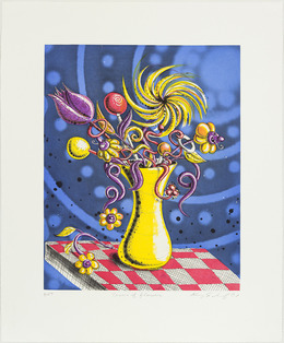 , 'Towers of Flowers,' 2001, Graphicstudio USF