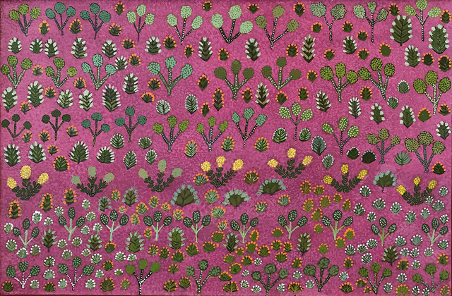 , 'Rosie Kemarre Morton - My Father's Country and Bush Medicine #521 - 17 ,' 2017, Flinders Lane Gallery
