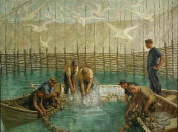 Seining of the Weir Net