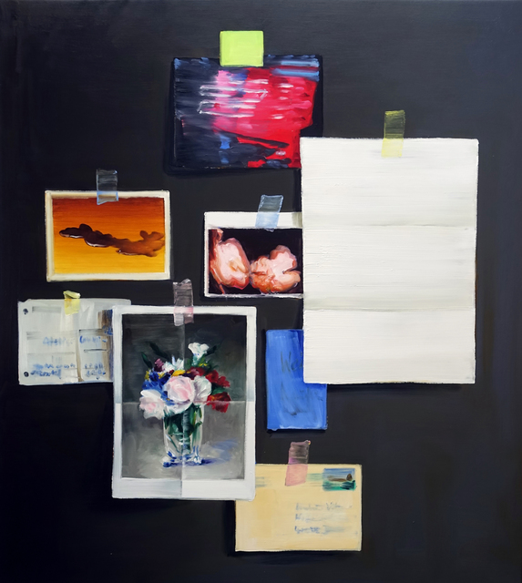 , 'Studio Wall,' 2018, Hosfelt Gallery