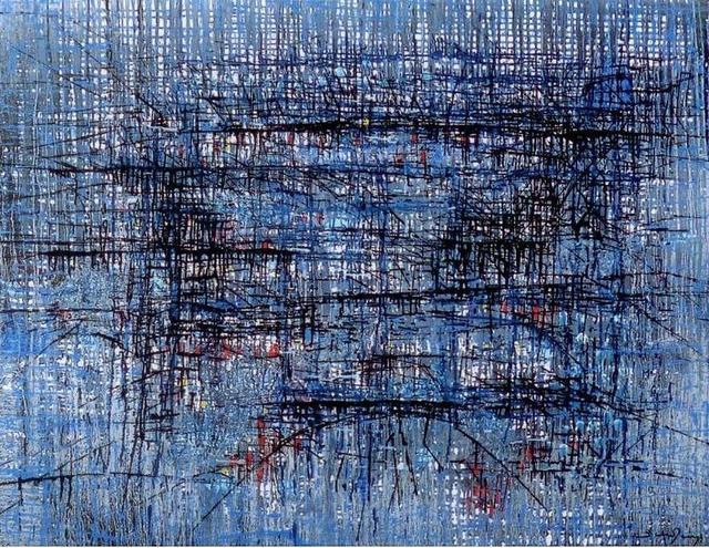 , 'Cidade azul,' 1964, Dan Galeria