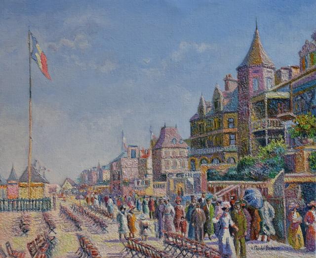 , 'En Fin de Matinée, les Planches(Deauville),' , Russell Collection