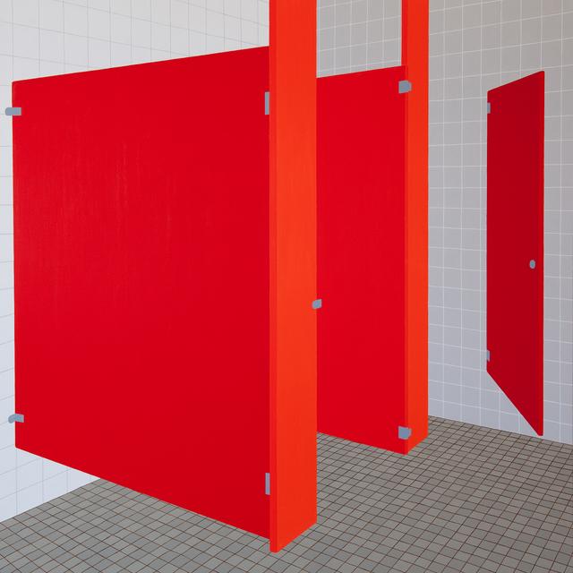 , 'Bathroom #2,' 2017, Gallery Fritz