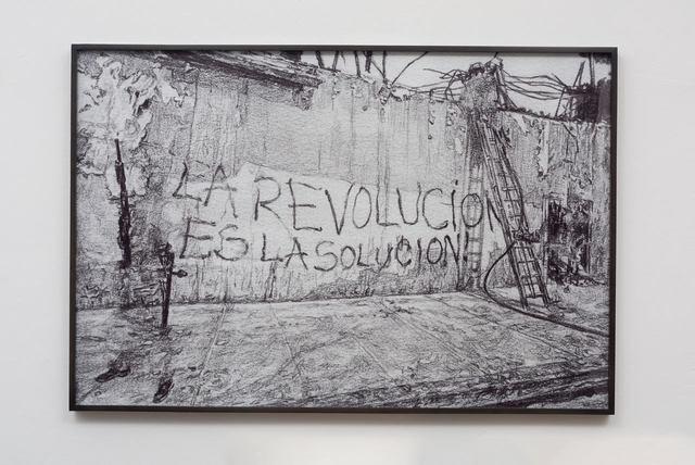 , 'Untitled (La Revolucion es la solucion!),' 2017, AA|LA