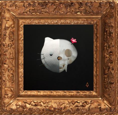 , 'Skull Kitty,' 2017, Galeria Casa Cuadrada