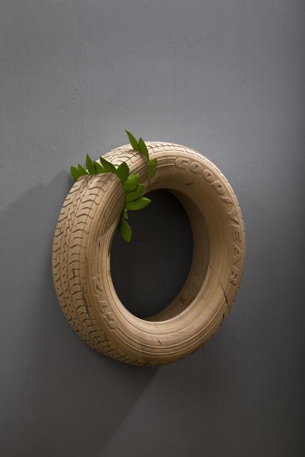Willy Verginer, 'GoodYear Tire', 2019, Galerie LeRoyer