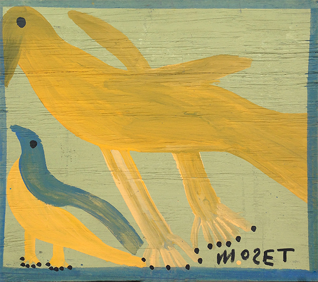 , 'Untitled Yellow Bird,' ca. 1998, David Lusk Gallery
