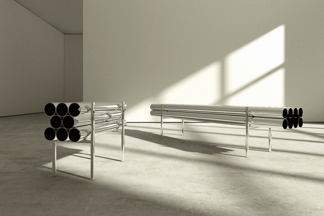 , 'Short Bench,' 2016, Giovanni Beltran
