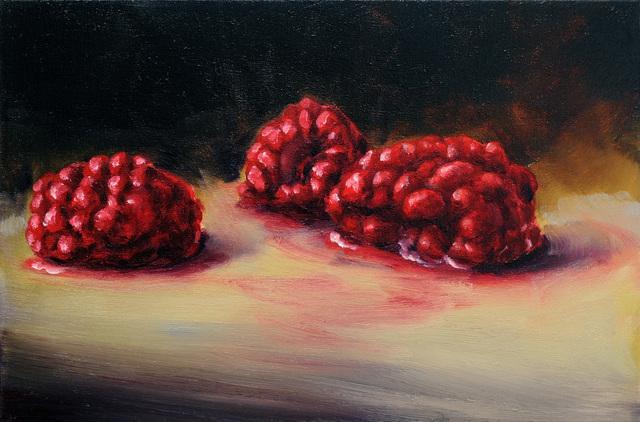 , 'Three Raspberries,' 2018, Hosfelt Gallery