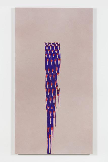Tauba Auerbach, 'Grain: Maille Stroke I (For L)', 2015, de la Cruz Collection