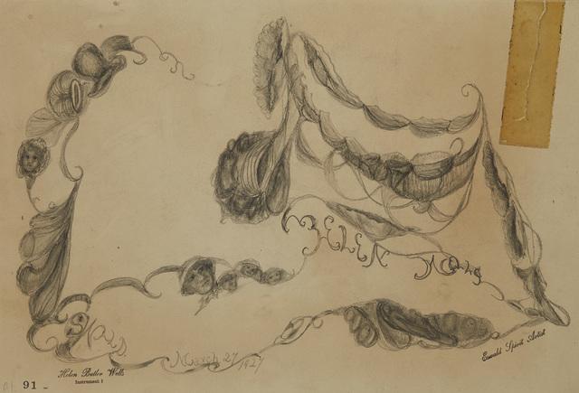 , 'Spirit Drawing #91,' 1927, Cavin Morris Gallery