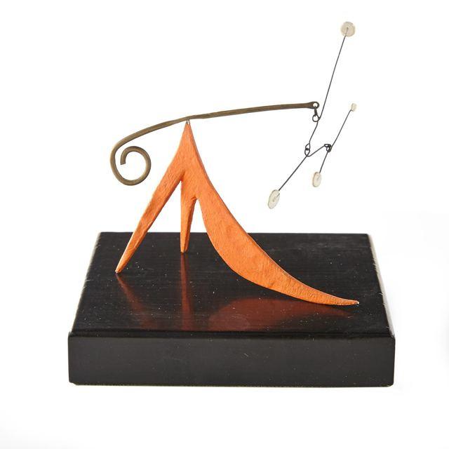 Alexander Calder, 'Long Orange Tail', 1948, Doyle