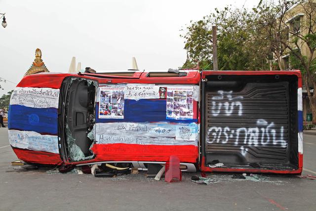 , 'Ratchadamnoen Motor Show # 10,' 2014, Yavuz Gallery