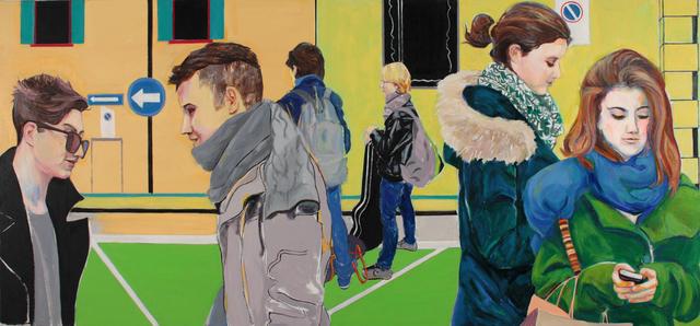 , 'Bus Stop,' 2019, Denise Bibro Fine Art