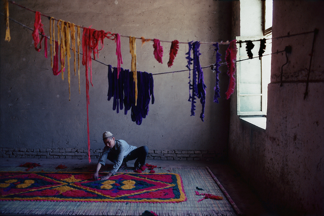 , 'Felt Carpet Maker, Kashgar, Xinjian, China,' , Pucker Gallery