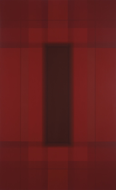 , 'The Water District - Red,' 2013, David Richard Gallery