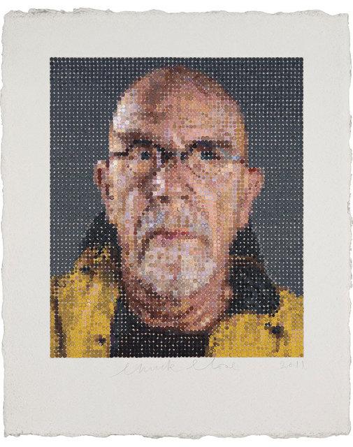 Chuck Close, 'Self Portrait', 2012, Hamilton-Selway Fine Art