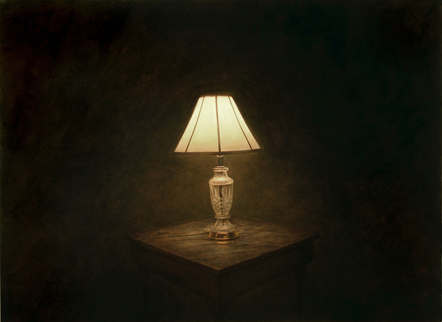 Dan Witz, 'Viking Hotel Lamp', 2008