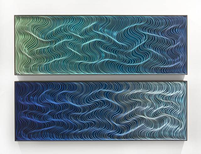 , 'Rise diptych,' 2016, Laura Rathe Fine Art