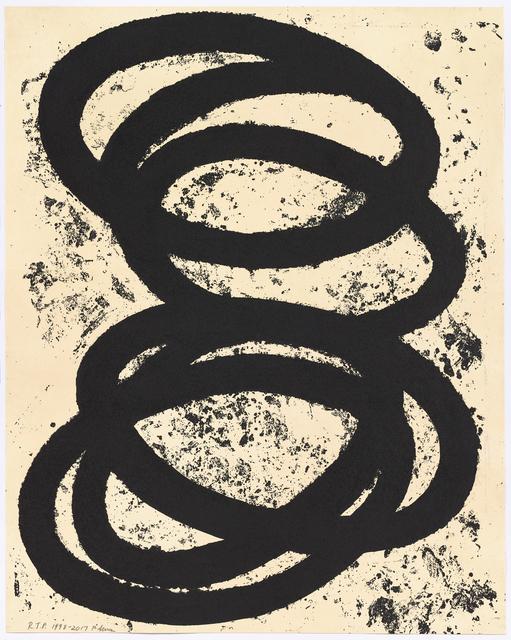 , 'Finally Finished ,' 2017, Gemini G.E.L. at Joni Moisant Weyl