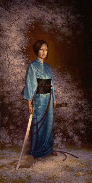 Christophe Vacher, 'The Blue Kimono', IX Gallery