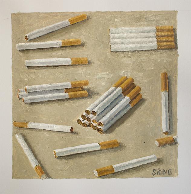 , 'Cigarettes,' 2015, SMAC ART GALLERY
